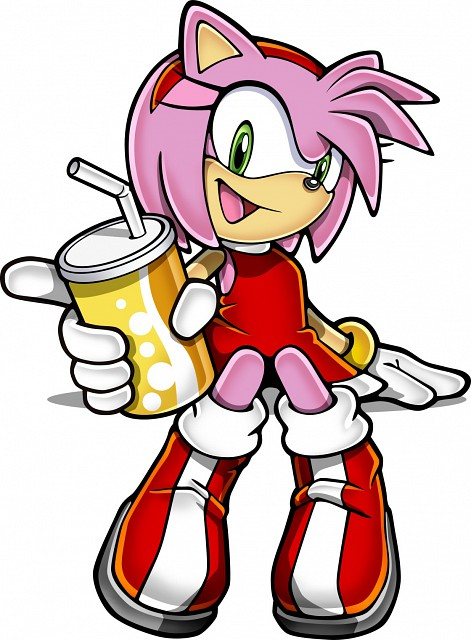 Sega, Sonic the Hedgehog, Amy Rose, Official Digital Art