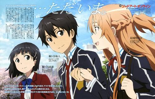 Abec, A-1 Pictures, Sword Art Online, Kazuto Kirigaya, Asuna Yuuki