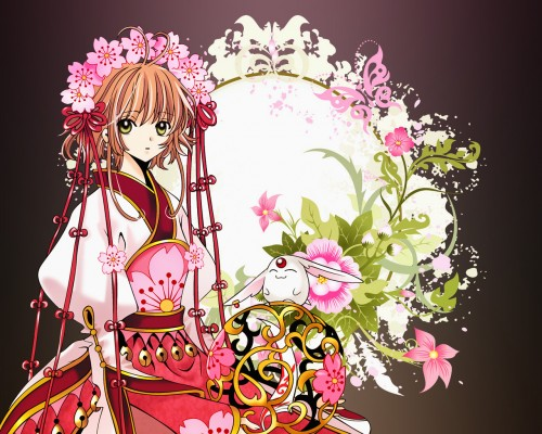 CLAMP, Bee Train, Tsubasa Reservoir Chronicle, Sakura Kinomoto, Mokona Wallpaper