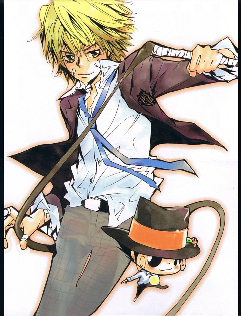 Akira Amano, Katekyo Hitman Reborn!, Dino Cavallone, Leon (Katekyo Hitman Reborn!), Reborn (Character)