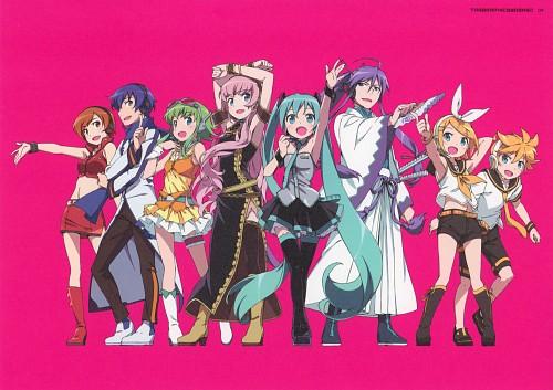 Hiro Kanzaki, Tabgraphics Works, Vocaloid, Miku Hatsune, Rin Kagamine