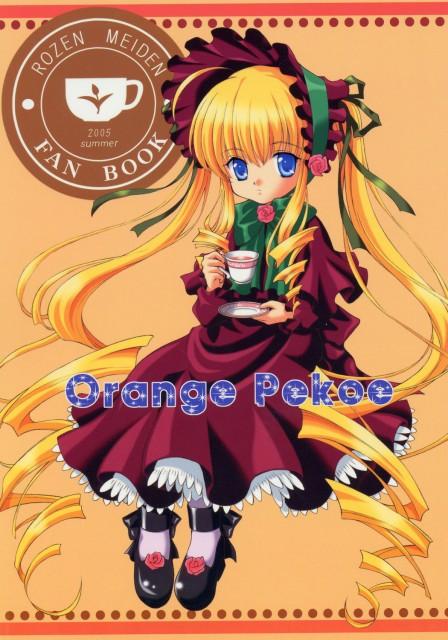 Peach-Pit, Rozen Maiden, Shinku, Doujinshi, Doujinshi Cover