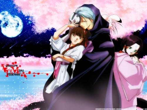Narumi Kakinouchi, Vampire Princess Miyu, Reiha, Miyu, Larva Wallpaper