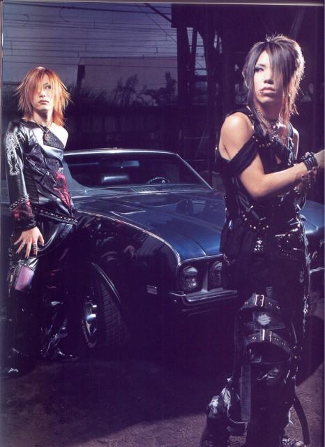 Uruha, Aoi (J-Pop Idol), Gazette