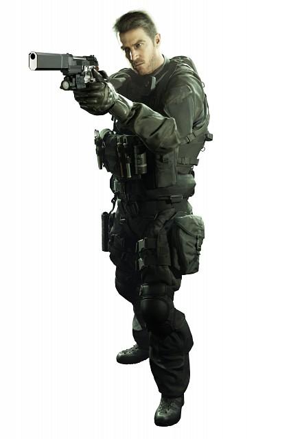 Capcom, Resident Evil 7, Chris Redfield, Official Digital Art
