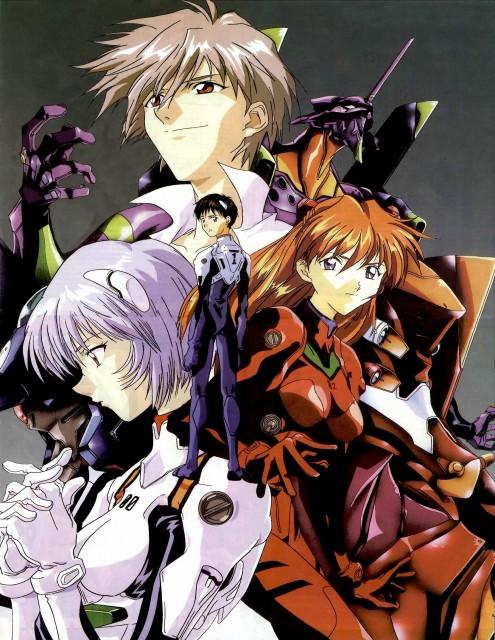 Neon Genesis Evangelion, Unit-01, Kaworu Nagisa, Asuka Langley Soryu, Unit-02