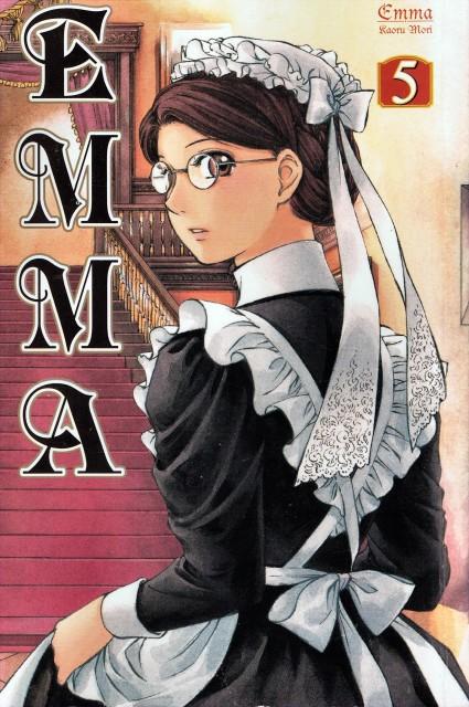 Victorian Romance Emma, Emma (Victorian Romance Emma), Manga Cover