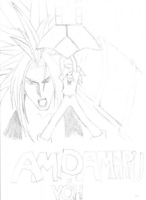 Hiroyuki Takei, Shaman King, Amidamaru, Yoh Asakura, Member Art