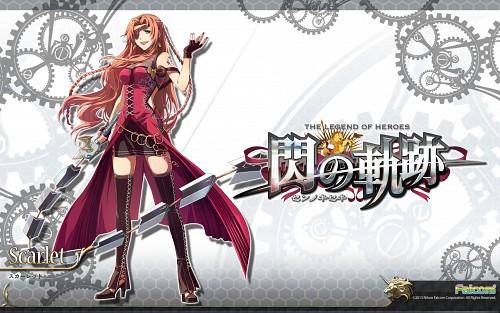 Falcom, The Legend of Heroes: Zero no Kiseki, Scarlet (Zero no Kiseki), Official Wallpaper