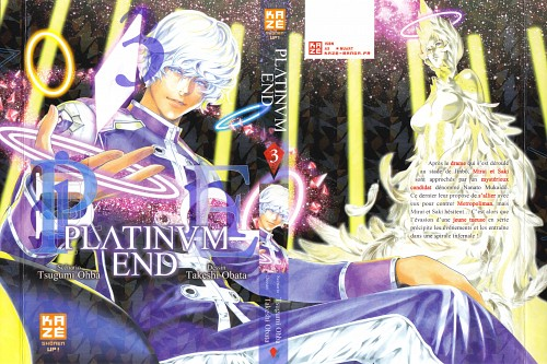 Takeshi Obata, Platinum End, Manga Cover