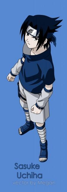 Studio Pierrot, Naruto, Sasuke Uchiha, Vector Art