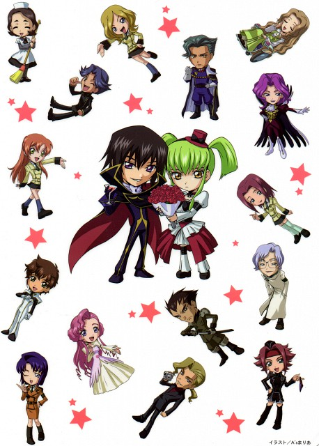 As' Maria, Sunrise (Studio), Lelouch of the Rebellion, Rivalz Cardemonde, C.C.