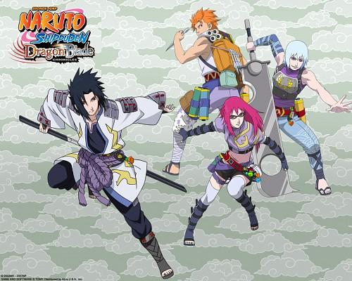 Studio Pierrot, Naruto, Karin (Naruto), Sasuke Uchiha, Juugo