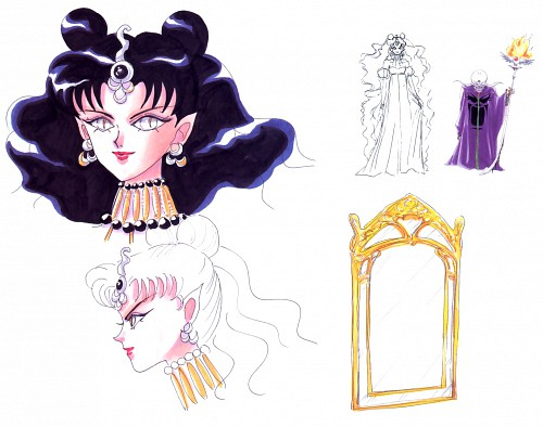 Naoko Takeuchi, Bishoujo Senshi Sailor Moon, BSSM Materials Collection, Zirconia, Queen Nehelenia