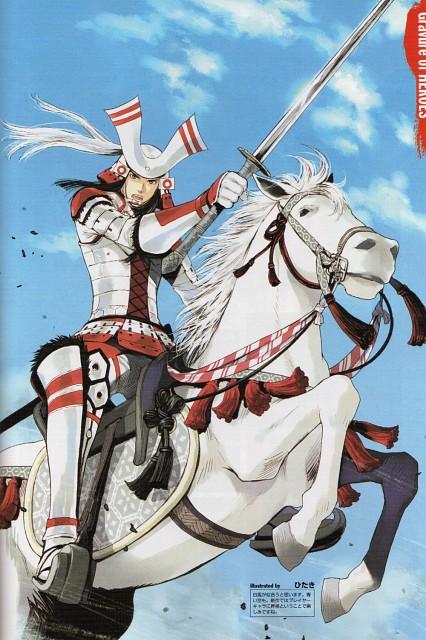 Hitaki, Production I.G, Capcom, Sengoku Basara 2 Visual & Sound Book Vol. 2, Sengoku Basara