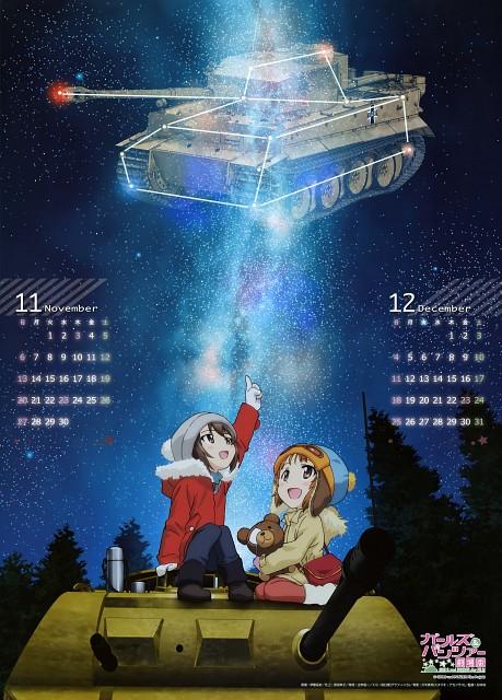 Takeshi Itou, Actas, GIRLS und PANZER, GIRLS und PANZER 2016 Calendar, Miho Nishizumi