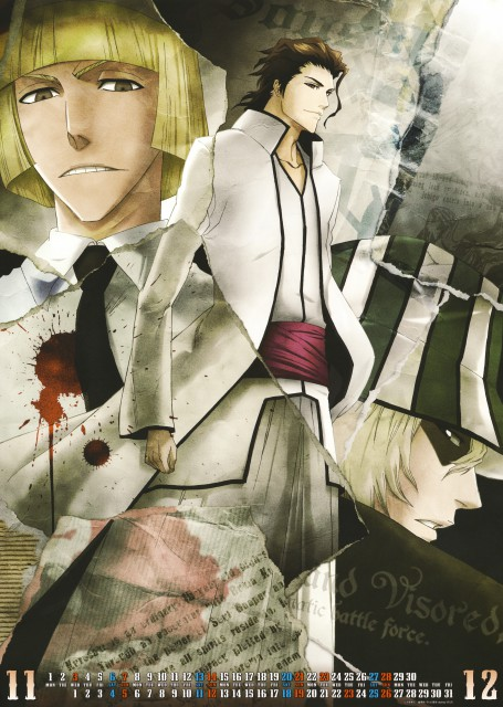 Studio Pierrot, Bleach, Bleach 2010 Calendar A, Shinji Hirako, Kisuke Urahara