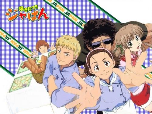 Yakitate!! Japan, Tsukino Azusagawa, Ken Matsushiro, Kyosuke Kawachi, Azuma Kazuma Wallpaper