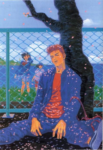Takehiko Inoue, Slam Dunk, Inoue Takehiko Illustrations, Hanamichi Sakuragi, Ayako