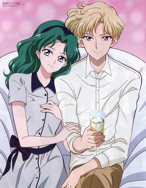 Toei Animation, Bishoujo Senshi Sailor Moon, Michiru Kaioh, Haruka Tenoh, Pin-up Poster