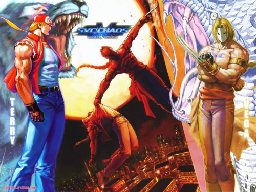 Capcom, SNK, Fatal Fury, King of Fighters, Street Fighter Wallpaper