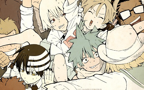 Atsushi Okubo, BONES, Soul Eater, Kilik Lunge, Death The Kid Wallpaper