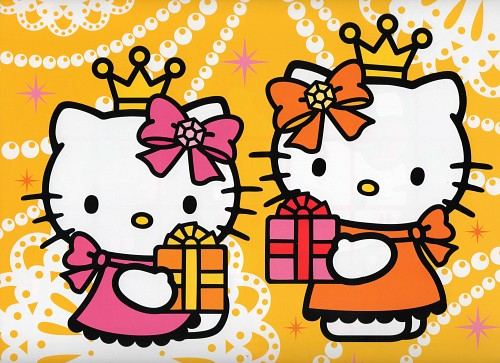 Sanrio, Hello Kitty (Series), Mimmy White, Kitty White