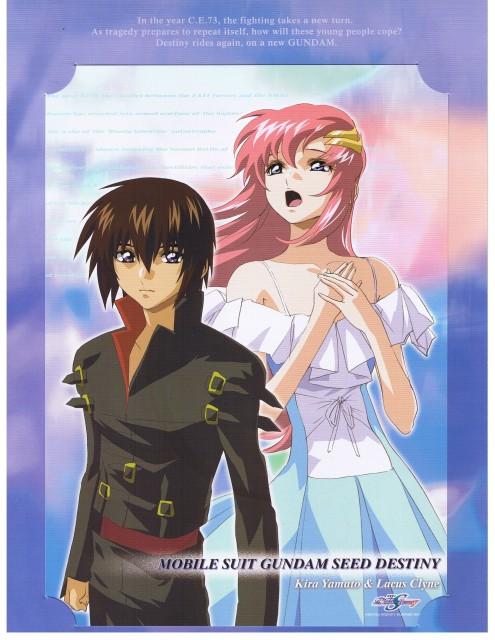 Sunrise (Studio), Mobile Suit Gundam SEED Destiny, Lacus Clyne, Kira Yamato
