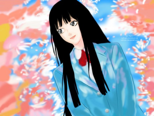 Karuho Shiina, Production I.G, Kimi ni Todoke, Sawako Kuronuma Wallpaper