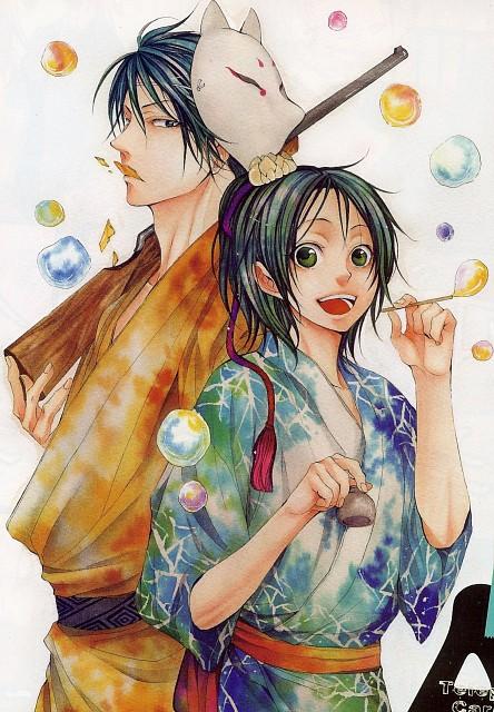 Miku Inui, Hi no Matoi, Kotarou (Hi no Matoi), Sakura Wakagimi, Comic ZERO-SUM