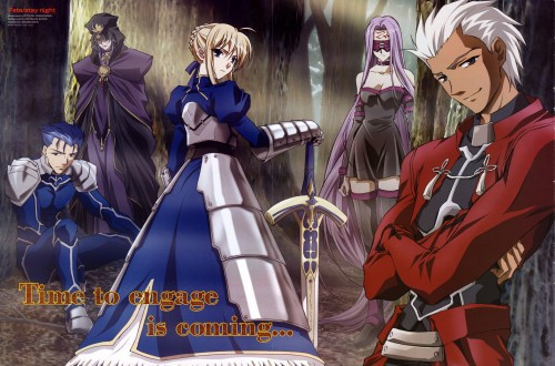 Studio Deen, TYPE-MOON, Fate/stay night, Rider (Fate/stay night), Lancer (Fate/stay night)