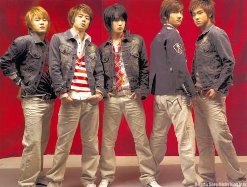 U-Know, Max, Hero, Micky, TVXQ