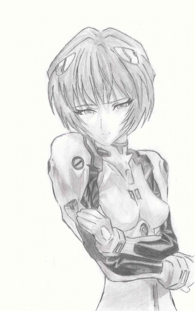 Gainax, Neon Genesis Evangelion, Rei Ayanami, Member Art