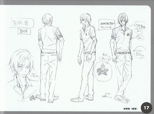 Kyoto Animation, Free!, Rin Matsuoka, Character Sheet
