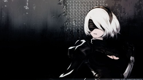 Nier, Yorha No. 2 Type B Wallpaper