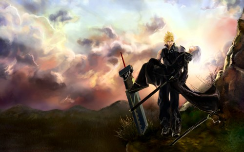 Square Enix, Final Fantasy VII: Advent Children, Final Fantasy VII, Cloud Strife, Kadaj Wallpaper