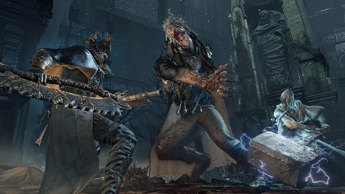 FromSoftware, Bloodborne, The Hunter, Father Gascoigne, Game CG