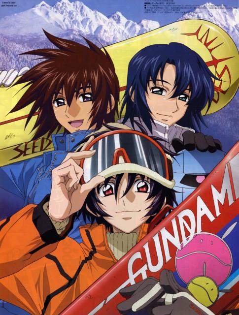 Sunrise (Studio), Mobile Suit Gundam SEED Destiny, Athrun Zala, Kira Yamato, Haro