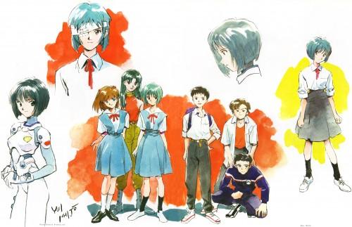 Yoshiyuki Sadamoto, Gainax, Neon Genesis Evangelion, Der Mond, Rei Ayanami