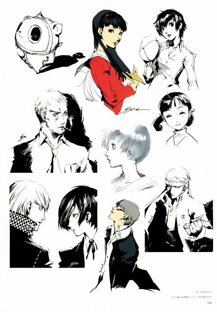 Shigenori Soejima, Soejima Shigenori Artworks 2004-2010, Shin Megami Tensei: Persona 3, Shin Megami Tensei: Persona 4, Naoto Shirogane