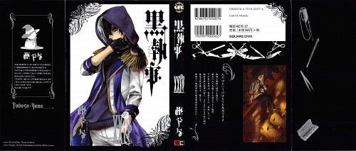 Yana Toboso, A-1 Pictures, Kuroshitsuji, Gregory Violet, Manga Cover