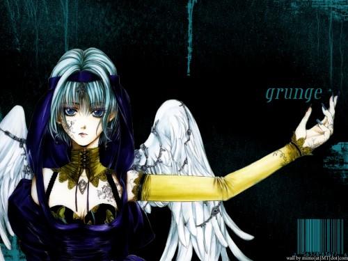 Kaori Yuki, Angel Sanctuary, Gabriel  Wallpaper