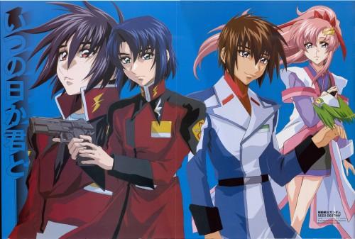 Sunrise (Studio), Mobile Suit Gundam SEED Destiny, Kira Yamato, Athrun Zala, Lacus Clyne