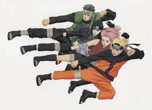 Masashi Kishimoto, Naruto, Yamato , Sai , Sakura Haruno