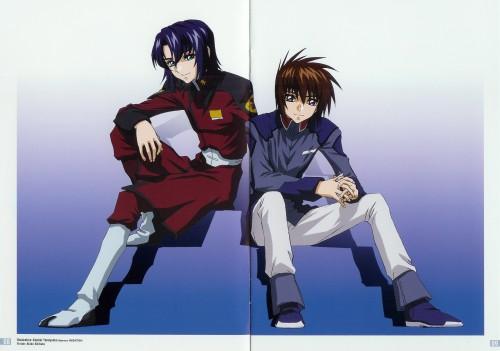 Kouhei Yoneyama, Sunrise (Studio), Mobile Suit Gundam SEED, Kira Yamato, Athrun Zala