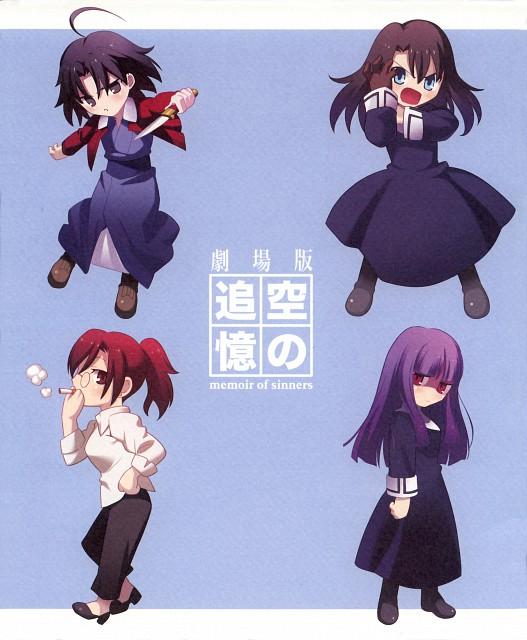 TYPE-MOON, Kara no Kyokai, Fujino Asagami, Shiki Ryougi, Touko Aozaki