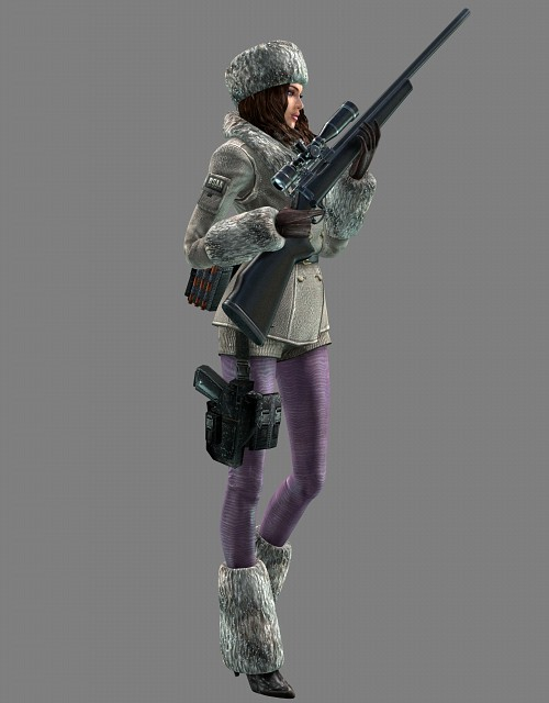 Capcom, Resident Evil: Revelations, Jessica Sherawat