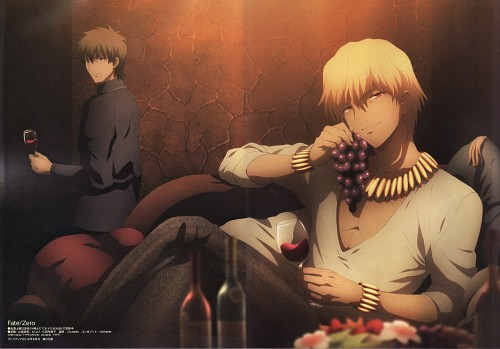 TYPE-MOON, Ufotable, Fate/Zero, Kirei Kotomine, Gilgamesh (Fate/stay night)