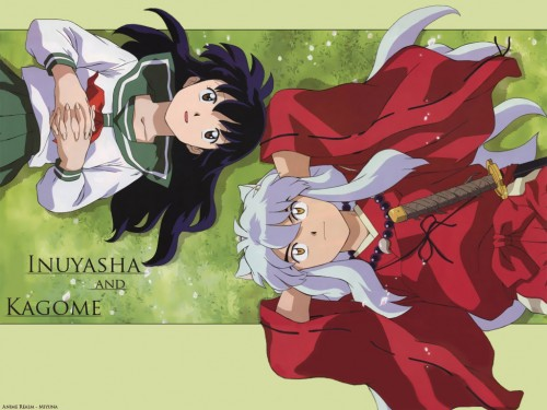 Rumiko Takahashi, Inuyasha, Inuyasha (Character), Kagome Higurashi Wallpaper