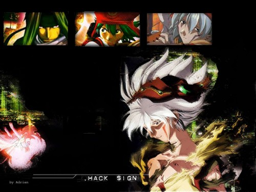 Yoshiyuki Sadamoto, Bee Train, .hack//SIGN, Sora (.hack), Kite (.hack//infection) Wallpaper